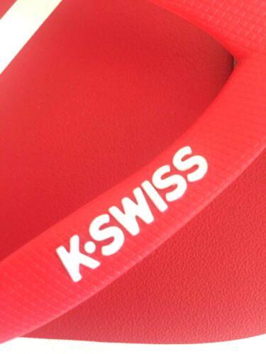 Flip fait un four Plage Chaussures K-Swiss 3 tailles noir