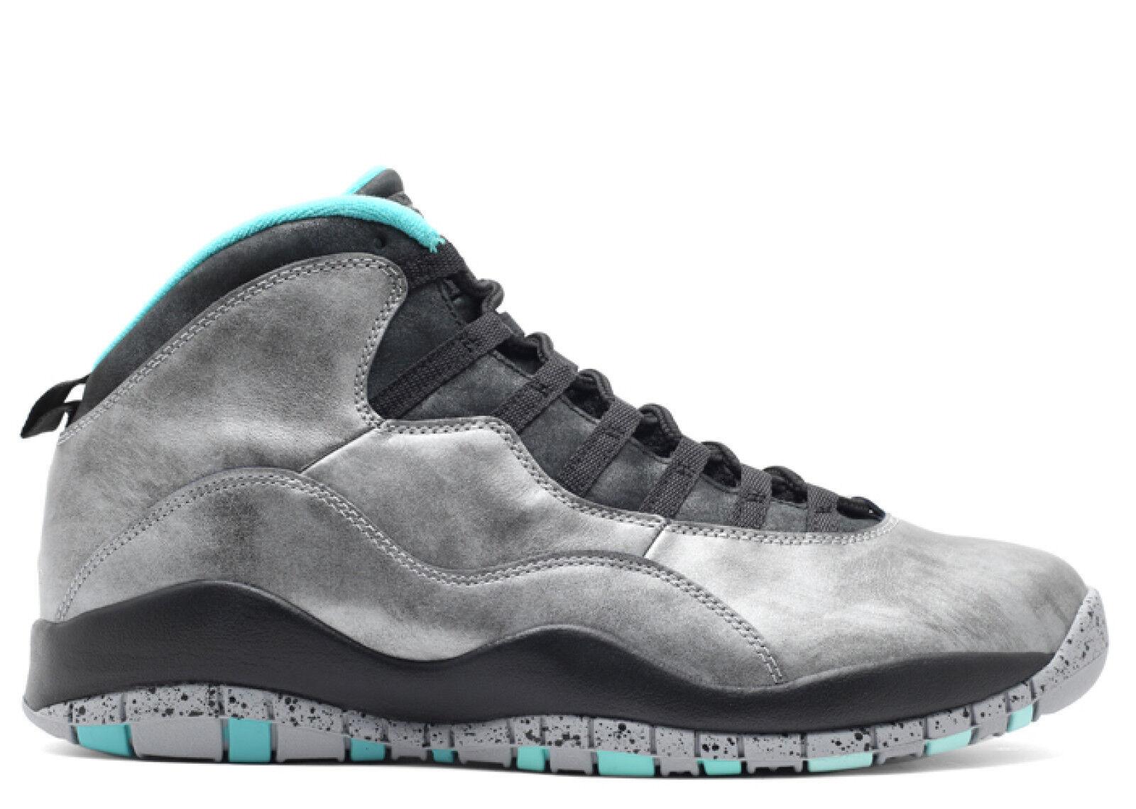 3f79bd413dcbaa ... black venom green cool grey 7c264 ad21a  ireland mens air jordan retro  10 lady liberty athletic fashion sneakers 705178 045 39e57 b7b95