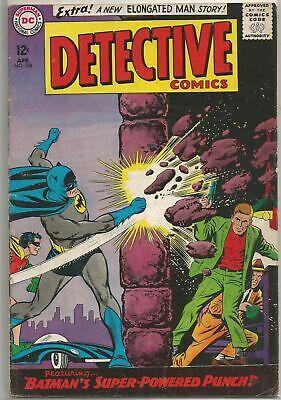 Detective Comics 338 Dc 1965 Silver Age Comic Fn Fn Elongated