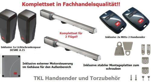 BFT 2-flügelig Drehtorantrieb FABER NL BT bis je 5,0m//250kg Fachhandelsqualität