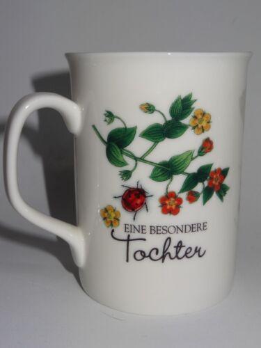 Tee-Tasse Kaffee-Becher Eine besondere Tochter Geburtstag Freundschaft Glück