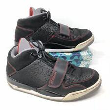 Men's Nike Jordan Flight Club 90s Size 10 Sneakers Shoes Basketball Black Red Q7