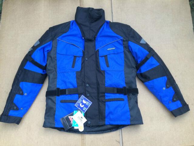 RK SPORTS Mens Textile Motorbike Motorcycle Jacket Size UK 44