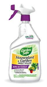 4 Garden Safe 24oz Rtu Houseplant And Garden Insect Spray 10422x 141994 Ebay