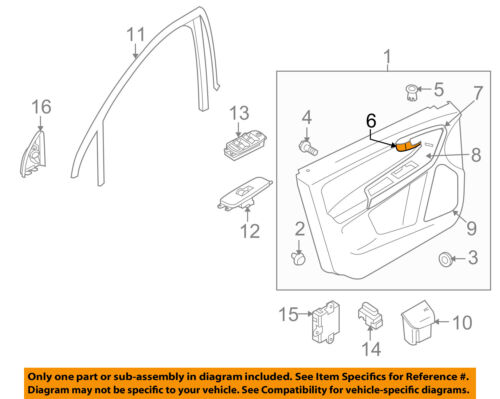 VOLVO OEM 10-13 XC60-Interior Door Handle Left 39856995