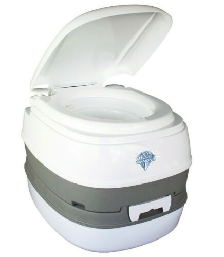 Outdoor Revolution 16L Flushing Portable Loo Toilet for Camping, Caravan, Travel