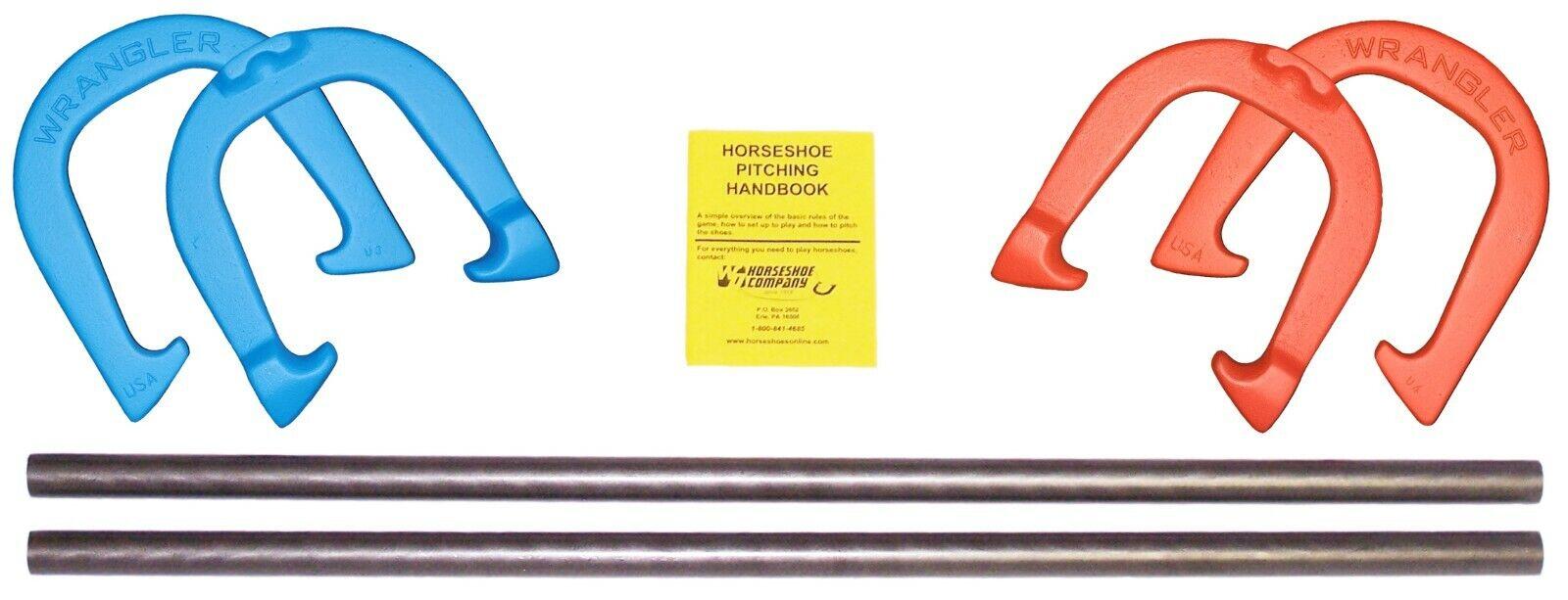 Wrangler altamente durable Pro pitcheo Herraduras-Conjunto de juego, hecho en EE. UU.
