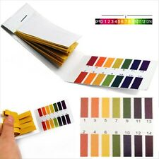 160x pH1-14 Litmus Test kit Paper Urine Saliva Acid Alkaline Aquarium Tank 2 Set