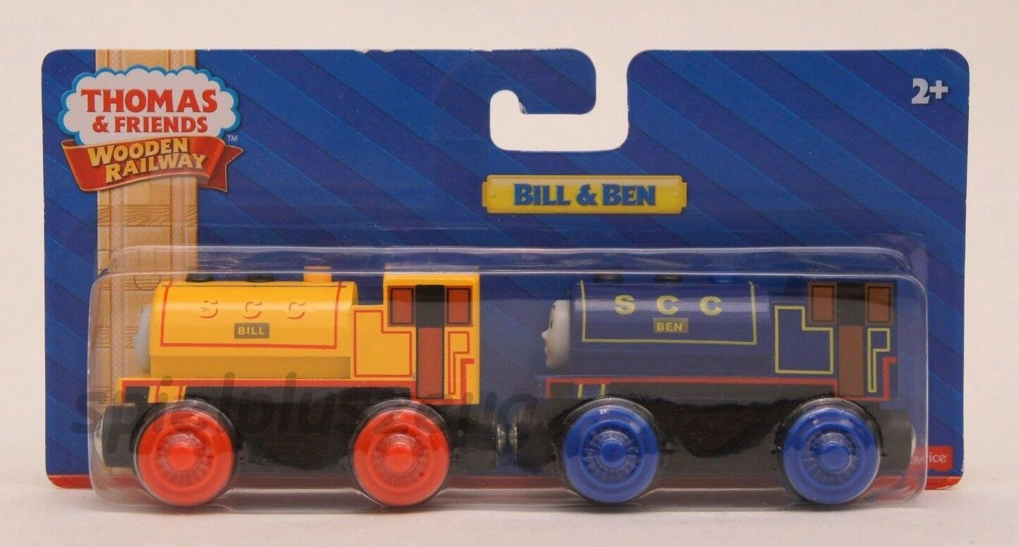Thomas und seine Freunde - Bill & Ben Holzeisenbahn Lokomotive NEU
