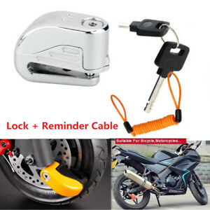 Motorcycle-Bike-Disc-Lock-Security-Alarm-6mm-pin-for-Kawasaki-Honda-Yamaha-AU