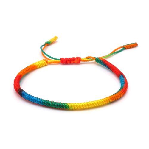 Benava tíbet pulsera multicolor SBRUL suerte pulsera amistad pulsera nodos
