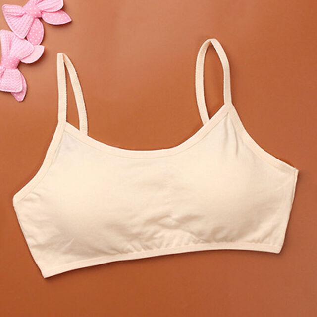 1PCS Girls Bra Bustier Top Without Underwire Teenager Girls Underwear Clothes