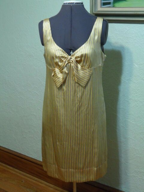 c34125b73229 Anthropologie Intuitions 100 Silk Dress W/lining Color Dreamsicicle ...