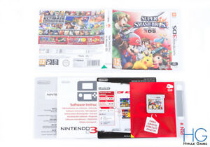 Super Smash Bros-Nintendo 3DS cartucho de juego PAL