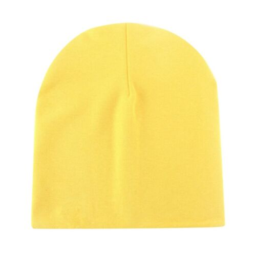 Baby Boy Girl Infant Toddler Cotton Elastic Spring Autumn Fashion Hat Cap 0-8Y
