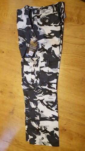 Highlander Enfants//Unisexe Urban Camouflage DPM Army Combat Pantalon 13-14 ans