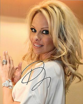Pam Anderson Hand Signed 8x10 Photo W/Holo COA | eBay