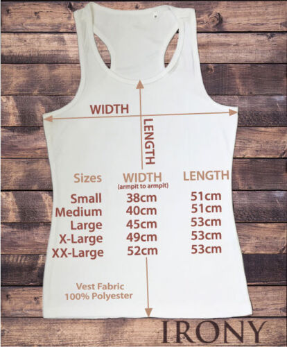 Womens Vest Top Yin Yang Find Balance Splatter Lotus Sublimation Print SUB592