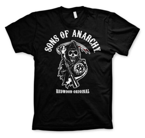 4XL Officially Licensed Sons of Anarchy-Redwood Original 3XL 5XL Men/'s T-Shirt