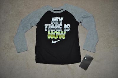 LSU Tigers Nike Thermal Long Sleeve Shirt Youth Boys Gray//Purple NWT