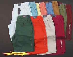 TOMMY-HILFIGER-Men-Classic-Fit-Chino-Casual-Shorts-NEW-NWT