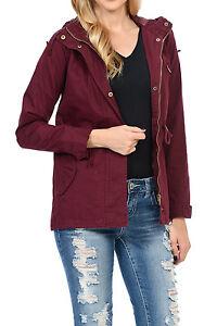 Zip Up Lightweight Military Versatile Utility Anorak Street Fashion Drawstring Adjustable Waist Jacket