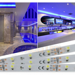LED STRIP LIGHTS BLUE LED TAPE RIBBON KITCHEN UNDER CABINET PLINTH - Kitchen plinth strip lighting