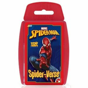 Top-Trumps-Spider-Man-Card-Game