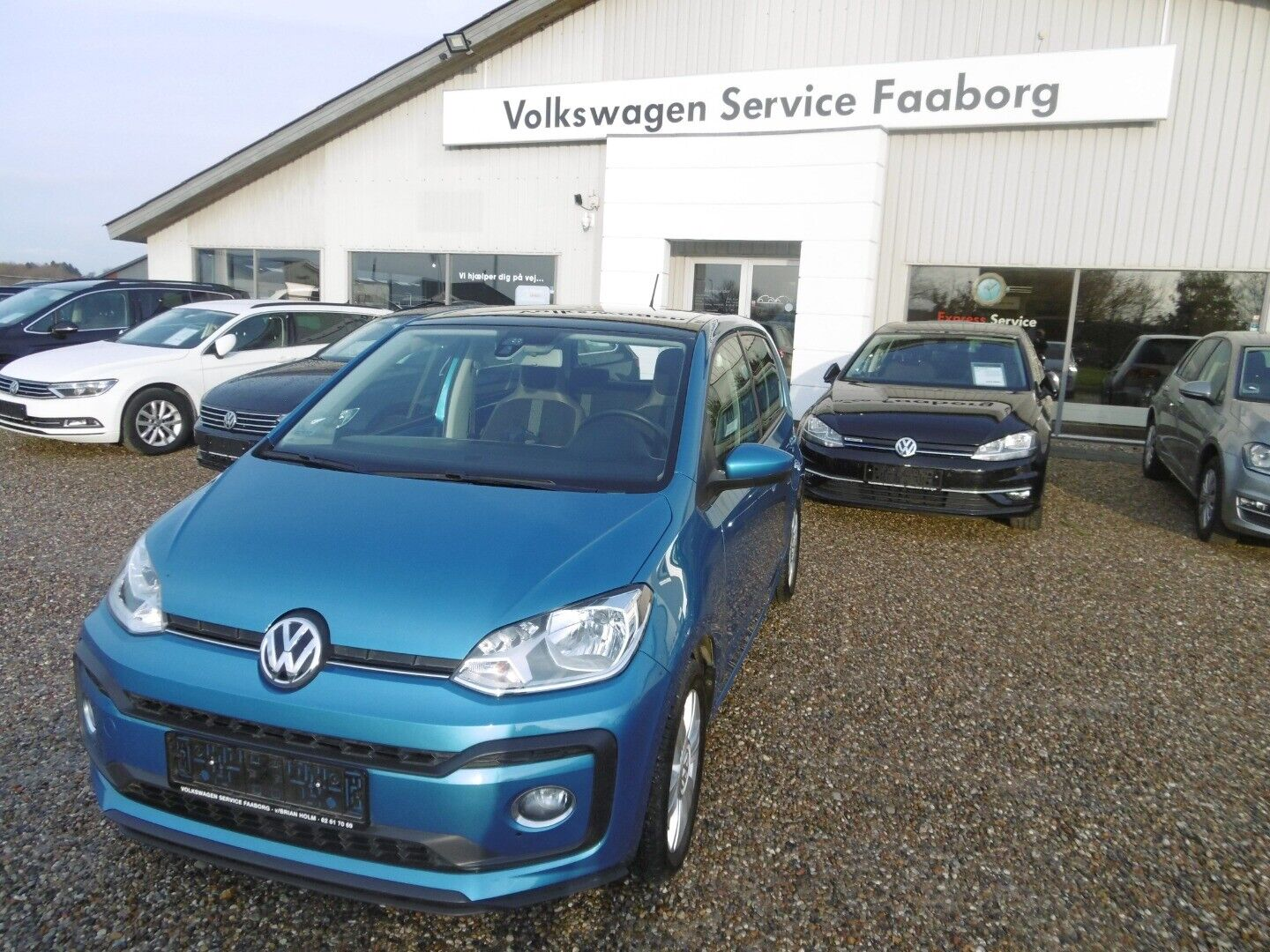 VW Up! 1,0 TSi 90 High Up! BMT 5d - 134.700 kr.