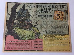 1967-Juguete-Anuncio-Haunted-Casa-Misterio-Banco