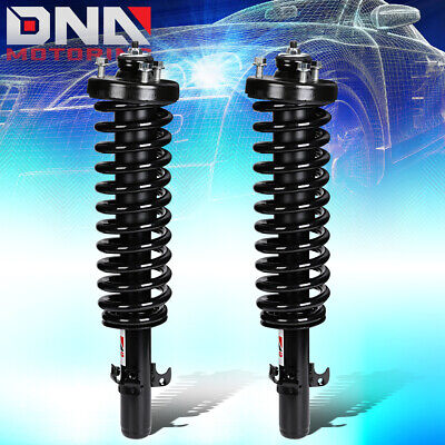 FOR 1994-1997 HONDA ACCORD SUSPENSION PAIR REAR LH+RH COIL SPRING SHOCK STRUTS