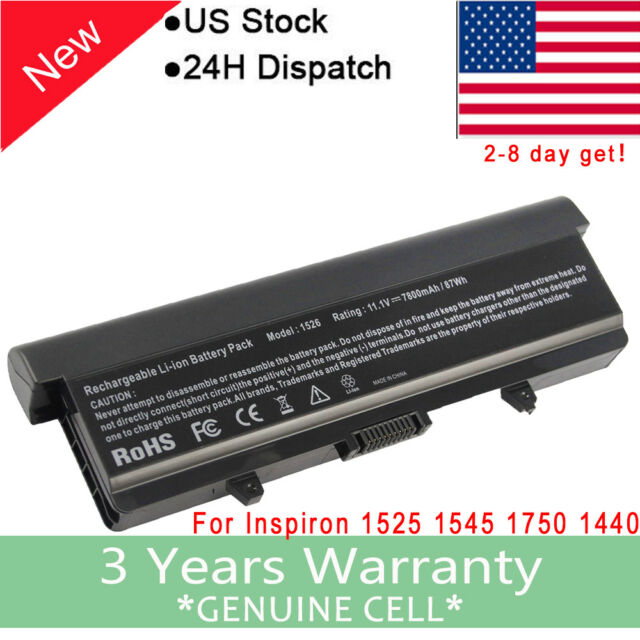 e8327f078067 Laptop Battery for Dell Inspiron 1525 1526 1440 1545 1546 1750 Gw240 Rn873