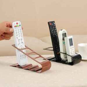 4 Grid TV Remove Control Holders Desktop Storage Tidy Stand Organiser Rack New