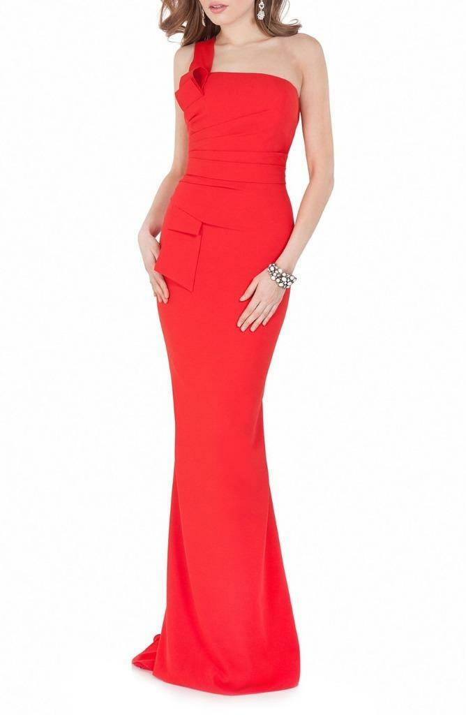 Terani Couture One-Shoulder Mermaid Gown-Größe 10  (F)