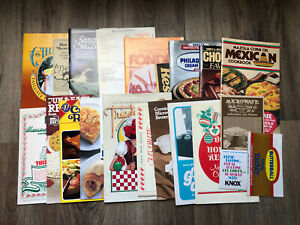 Vintage-Lot-of-Cookbook-Pamphlets-Promotional-Recipes-1980-039-s-Housewife