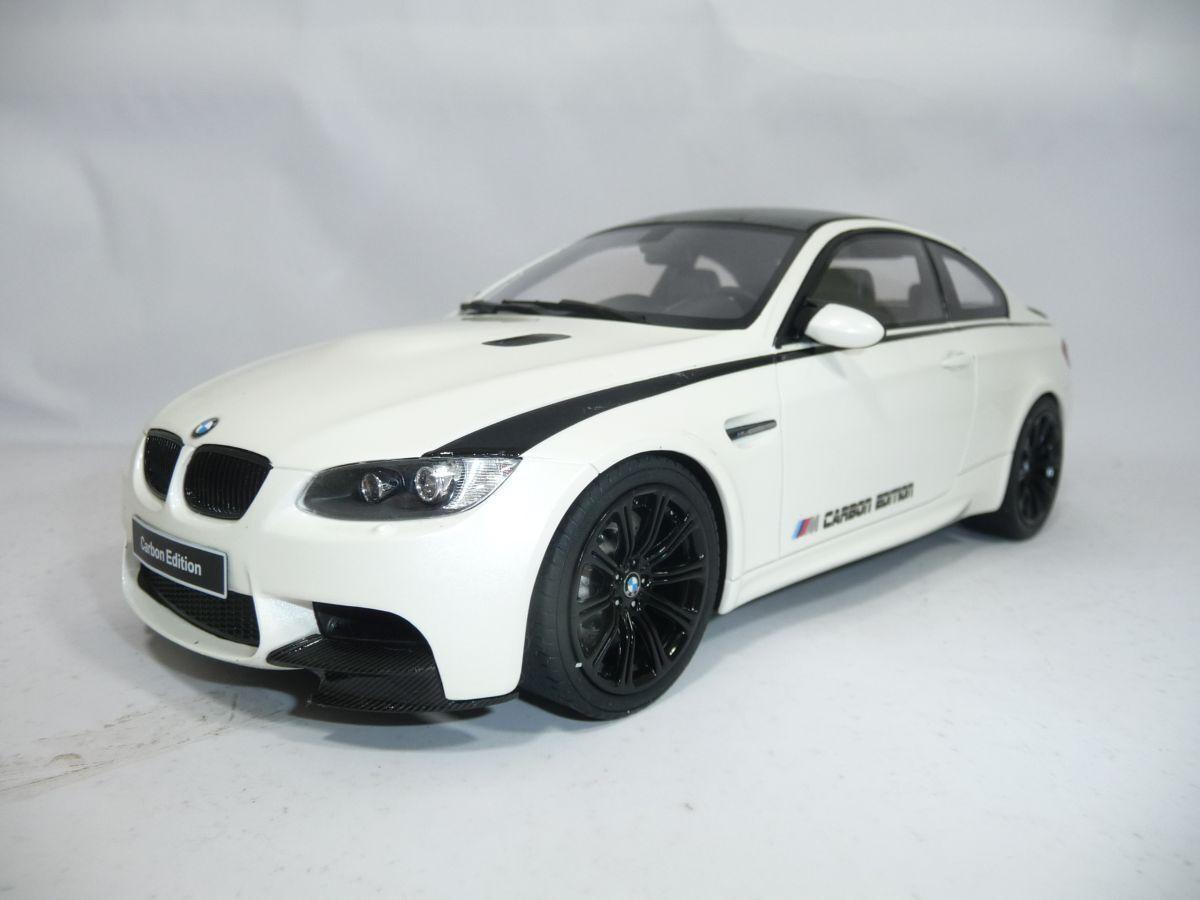 BMW m3 3er e92 COUPE Carbon Edition bianca 1:18 GT-SPIRIT zm015 VERY RARE LIM 504
