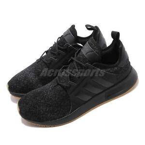 c694b8461 adidas Originals X PLR Black Gum Men Running Casual Shoes Sneakers ...