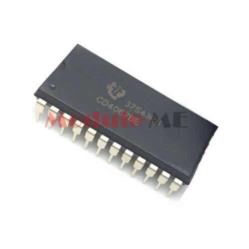 CD4067BE DIP-24 CD4067 Multiplexers//Demultiplexer