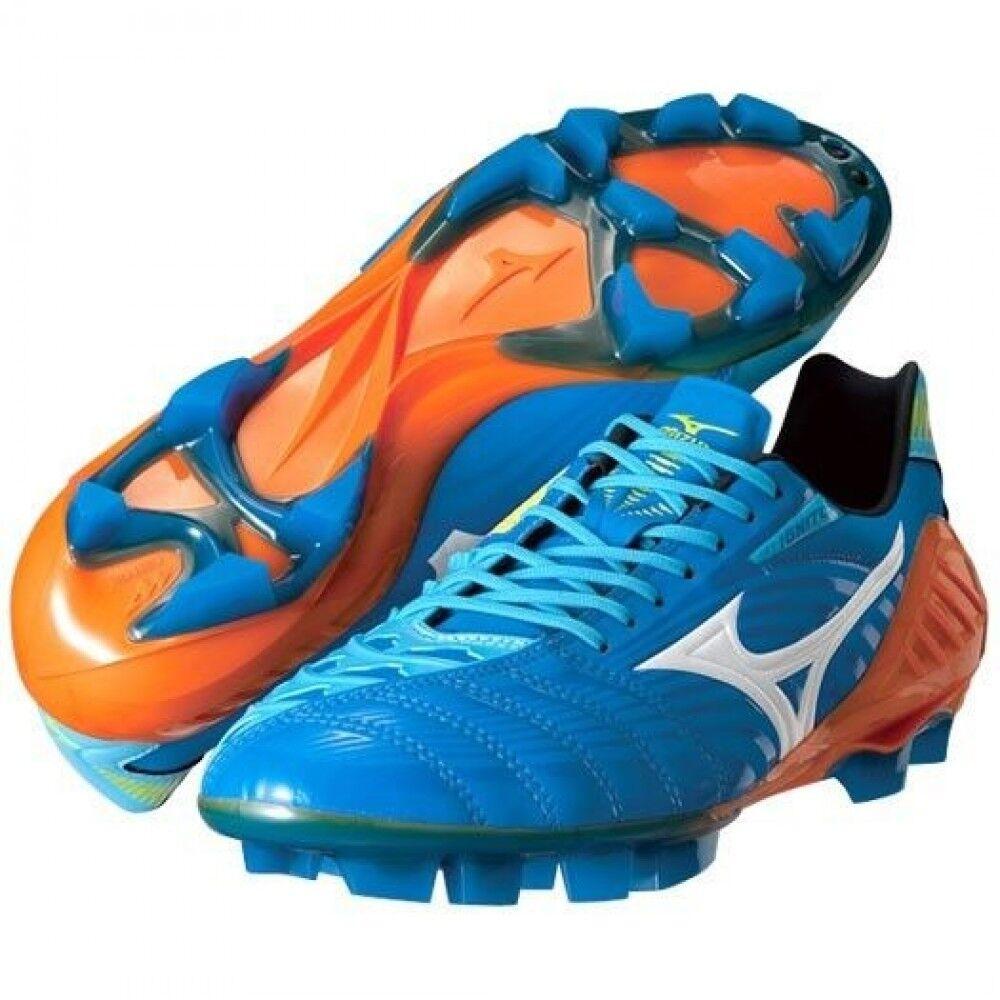 Wave Ignitus 3 SL Fútbol Fútbol Zapatos Spike P1GA1431 P1GA1431 P1GA1431 Azul Mizuno Japón afc519