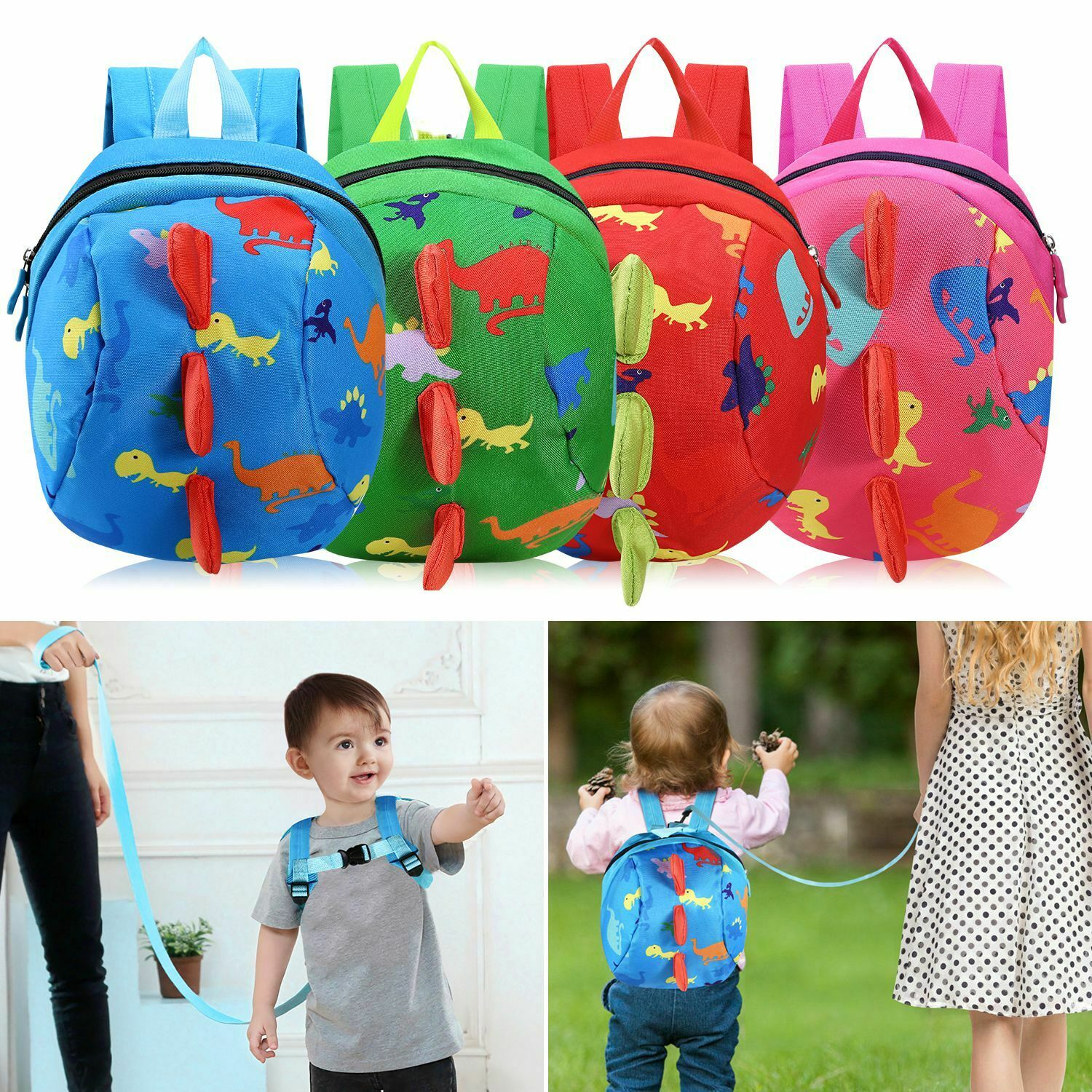 Toddler Harness Walking Leash Child Anti Lost Wrist Link 2 Pack... Safety