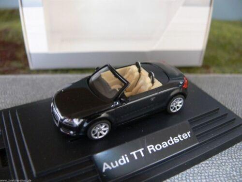 1//87 wiking audi tt roadster cabriolet noir 379994