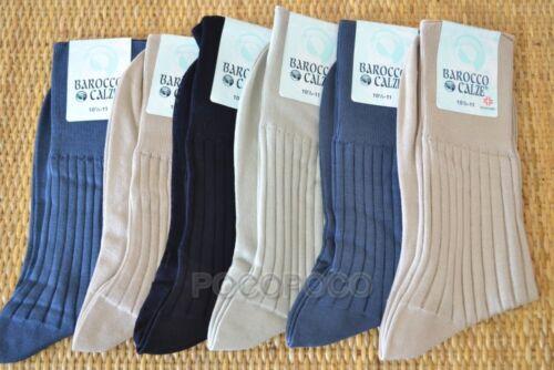 6 Pairs Socks Medical short Man Lisle Baroque Lecce Art 005
