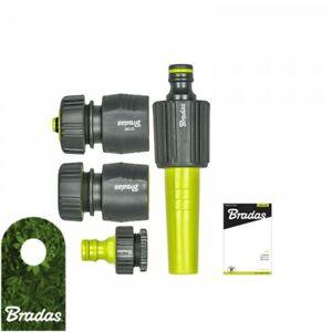 ABS Schnellkupplung Zubehör Werkzeug Teil Garten Schlauch Zwei-Wege Nippel