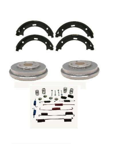Brake Shoe Drum plus Hardware Rear Kit Set fits Toyota Corolla 2009-2017
