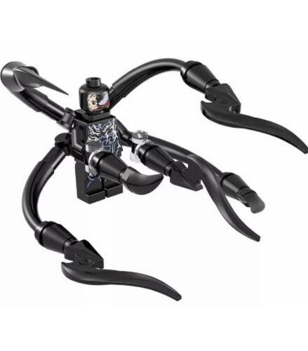 Spider-Man Venom SpiderMan Marvel Villain Minifigure Fits Lego US SELLER