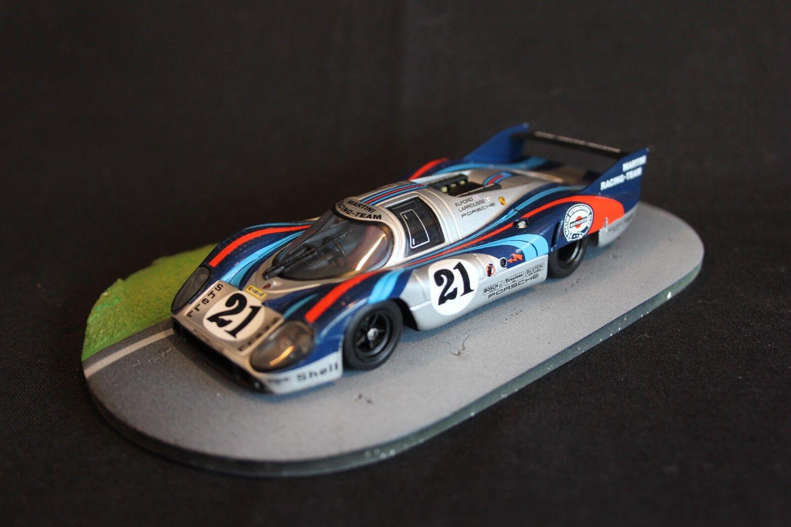 Minichamps Porsche 917LH 1971 1 43 Elford   Larrousse 24h Le Mans 1971 (AK)