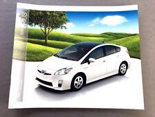 2004 Toyota Prius Hybrid Car Motor Trend Award Original Sales Brochure Catalog