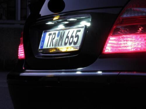 2x TOP LED SMD Kennzeichenbeleuchtung für Ford Mondeo V 5 MK5 Turnier //KS1//