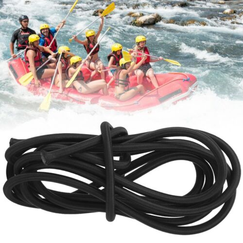 3x 2.8m Kayak Canoe Paddle Elastic Rope Inflatable Boat Oar Stretch String Cord
