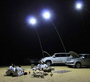 12v led camping lights 4 meters telescopic fishing pole outdoor image is loading 12v led camping lights 4 meters telescopic fishing mozeypictures Gallery
